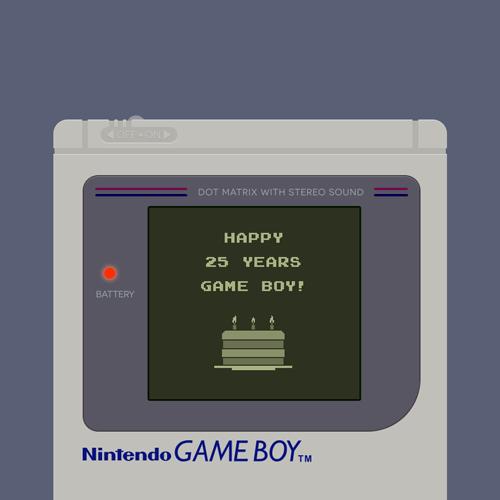 happy 25th birthday game boy